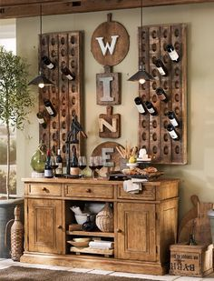wine themed dining room - Wine Themed Kitchen Ideas