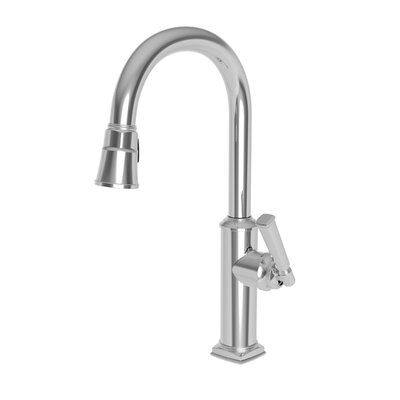 Newport Brass Zemora Pull Down Single Handle Kitchen Faucet