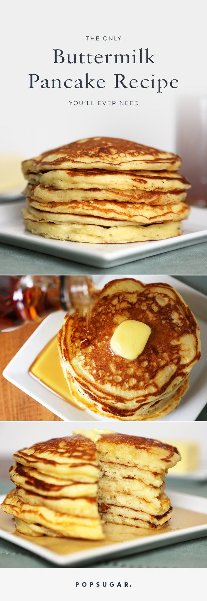 This buttermilk pancake recipe will land you the most flawless, fluffy flapjacks you've ever tasted.