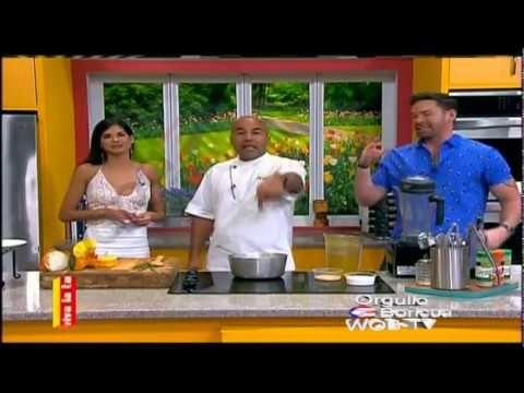 Chef Piñeiro Nos Prepara una Rica Ensalada de Bacalao -- Enero 16-2017 - YouTube
