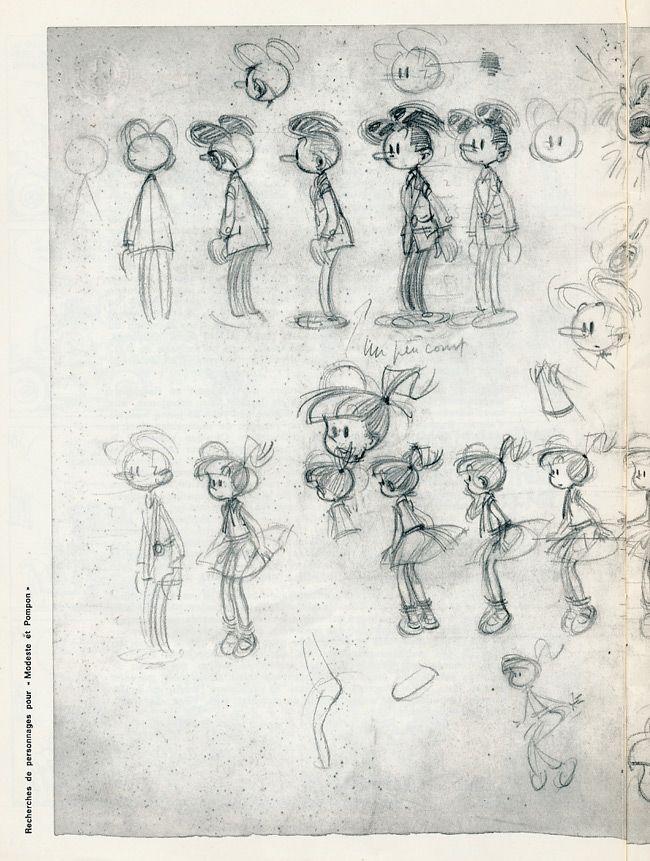 Extrait de Modeste et Pompon (Franquin) -4- Modeste et Pompon