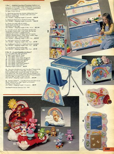 1985-Sears Christmas Catalog - we had that toy box!