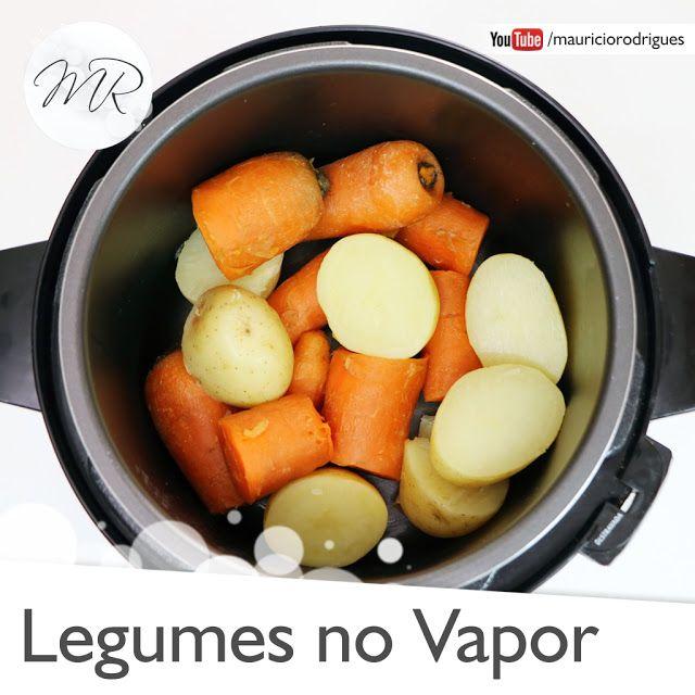 Video Como Cozinhar Legumes No Vapor Na Panela De Pressao