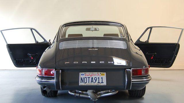6801 slate grey | ... Sale - Porsche 912 - 1968 Porsche 912 Coupe - Slate Grey - CPR Classic