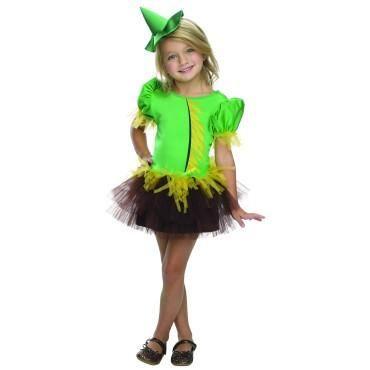 Girls Wizard of Oz Scarecrow Tutu Costume