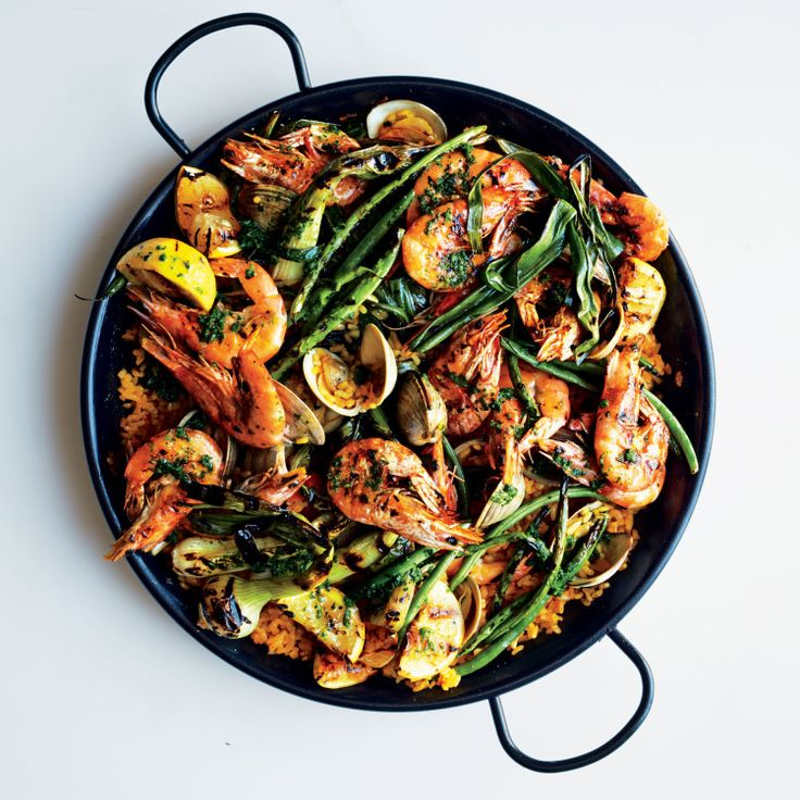 This dish requires organization and slicing and dicing in advance. But once the paella gets going, the process is pretty seamless—and the rewards are huge.