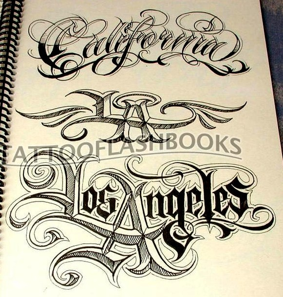 SICK LETTERING | LOS ANGELES | Pinterest | Lettering