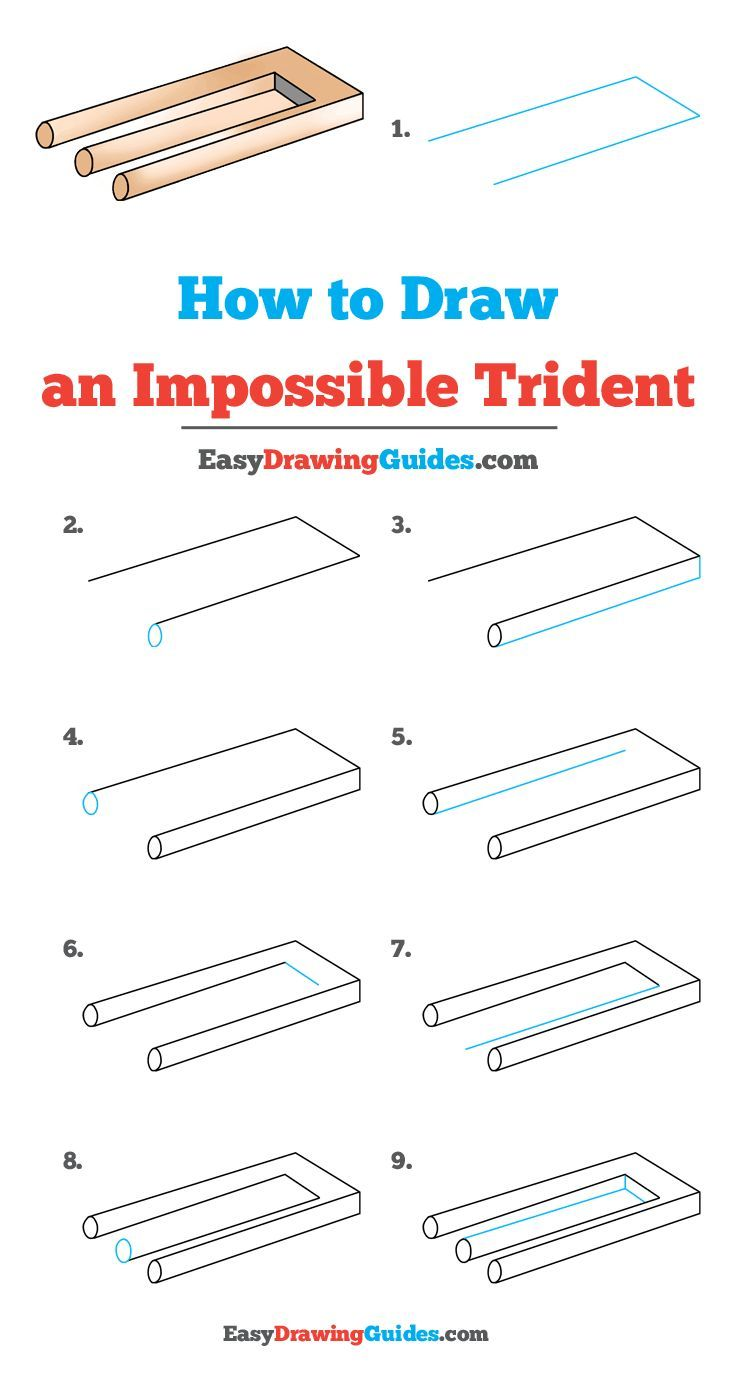 Trident Drawings - How to Draw Trident in Draw Something