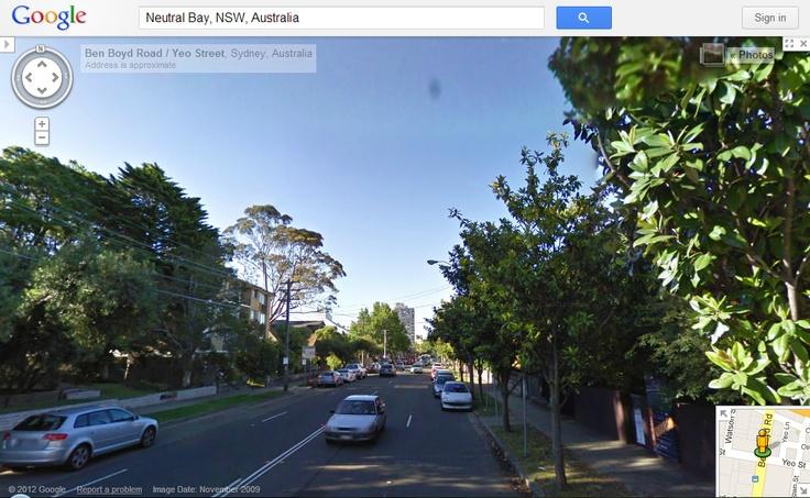 99Tasks.com - Concept - Outside view of Ben Boyd Road, Neutral Bay, NSW, Australia