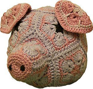 Mona-Stina Hallin Pig Head