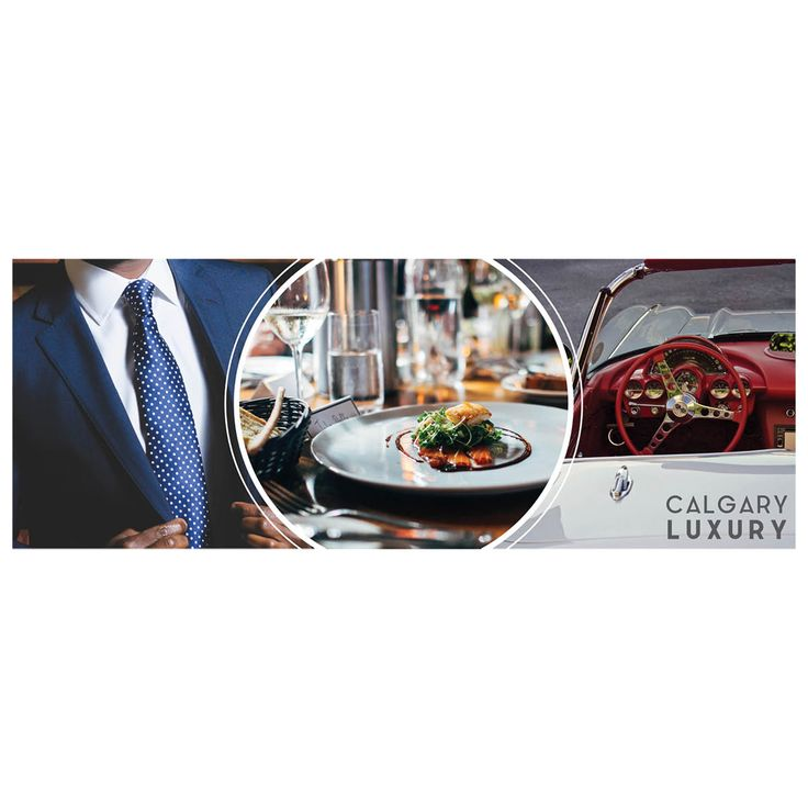 Facebook + Twitter cover photo design | Luxury brand | Luxury marketing