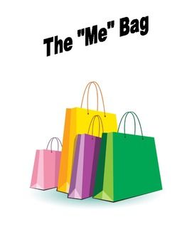 Beginning of the Year Me Bag Activity - a great back to school activity that helps everyone get to know each other.