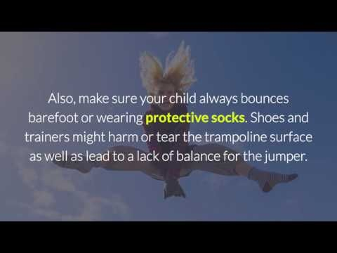 31 trampoline safety tips for kids and parents - How to make your kid's ...