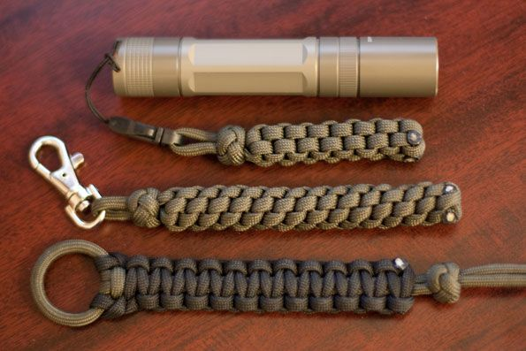 Paracord Lanyard, links to how to