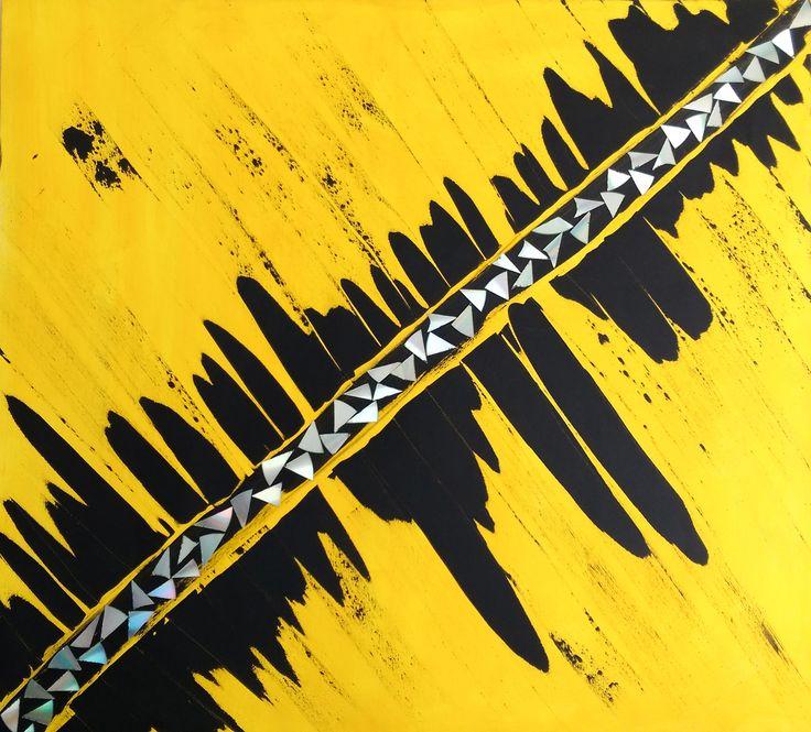 Gallerymak.com - 4.000 TL / 1.350 USD  Diagonal by Beyza Gers - Tuval üzerine Karışık Teknik (#mixedmedia) - 110x100  #gallerymak #sanat #soyut #resim #tablo #eser #gununkaresi #tasarim #dizayn #dekor #dekorasyon #evdekorasyon #çizim #mimar #içmimar #stil #tarz #turkishfollowers #artgallery #painting #instaart #abstract