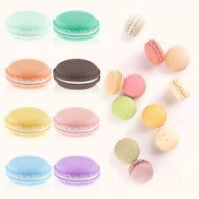 3 pcs Mini Cute macarrones Caja Candy Color Para Caja de joyería de excursión