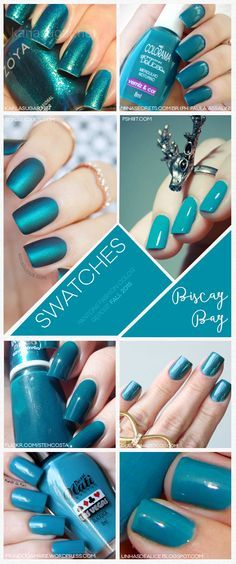 Pantone Fashion Color Report Fall 2015 Biscay Bay