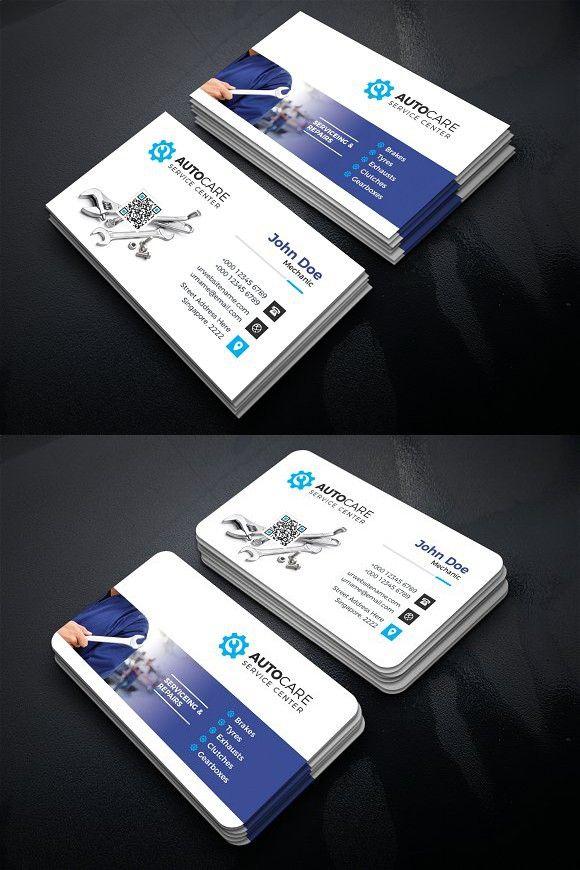Car Service Business Card Business Cards Creative Business Card Design Business Card Design Creative