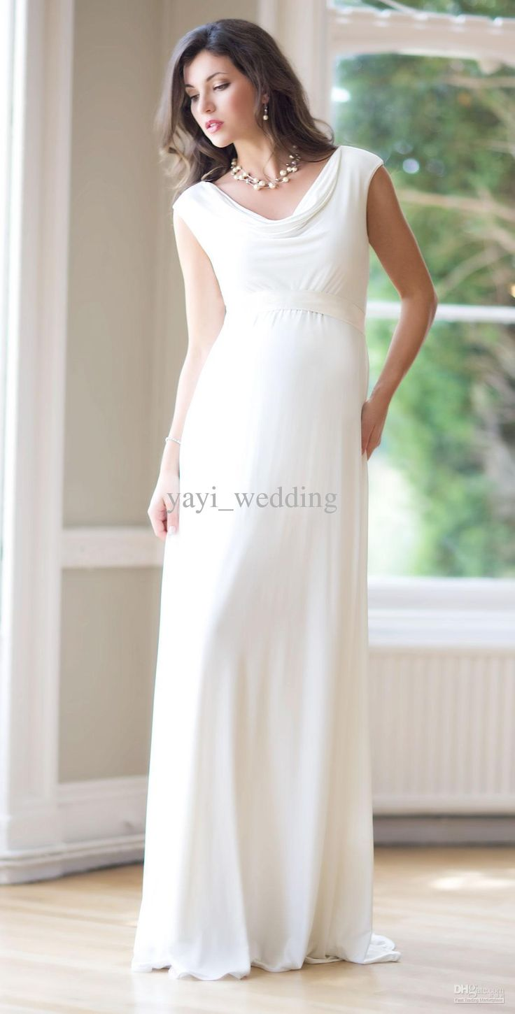 Magnificent Affordable Maternity Wedding Dress Composition - Wedding ...