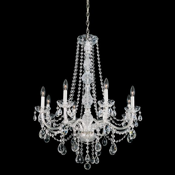 Schonbek Lighting 1305-40H Arlington Silver 8 Light Chandelier On Sale Now. Guaranteed Low Prices. Call Today (877)-237-9098.