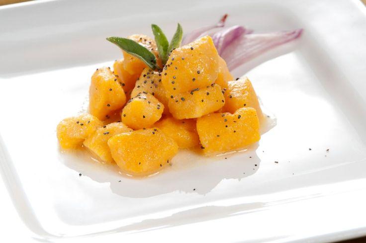 Gnocchetti di zucca ai semi di papavero ricetta