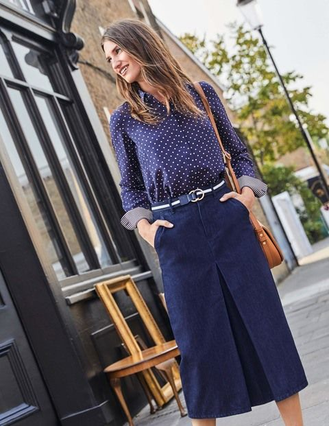 Mira Denim Skirt
