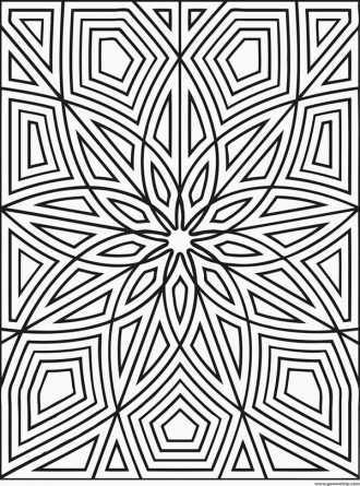 outstanding geometric design coloring pages printable 2222 x 3000 408 kb jpeg - Geometric Coloring Pages