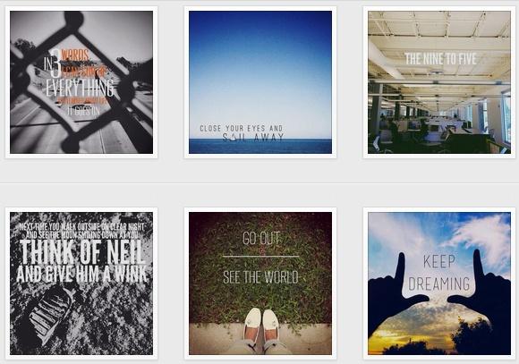 Ecrivez avec des magnifiques polices sur vos photos instagram