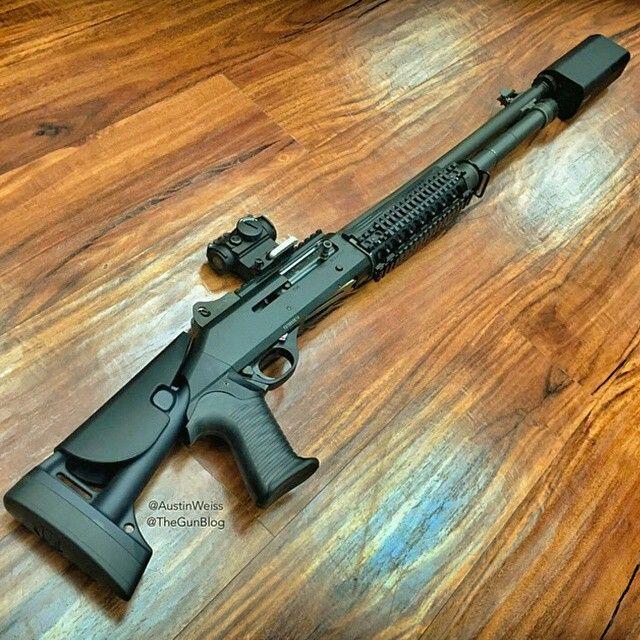 Benelli M4 suppressed