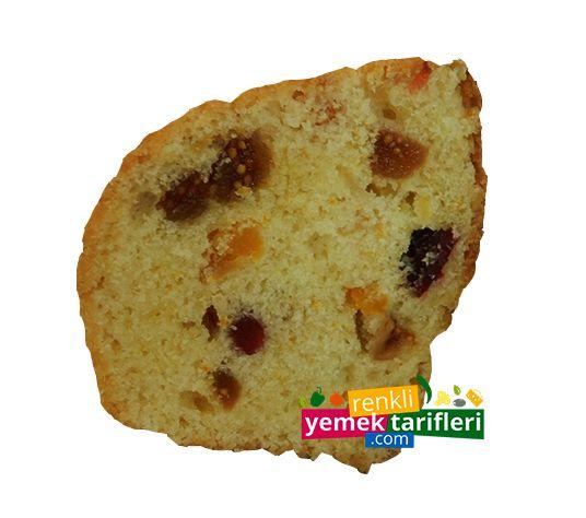 Meyve Parçacıklı Kek Tarifi, Kek Tarifleri, Meyveli Kek Yapılışı http://www.renkliyemektarifleri.com.tr/meyve-parcacikli-kek/