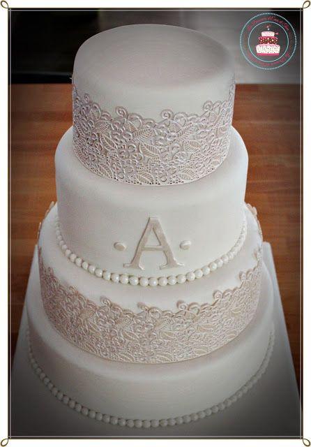 Wedding cake lace ou tout en dentelle
