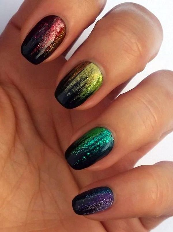 Thomas tom ‏@thomastom101  22s23 seconds ago 45 Catchy Sparkle Nails Design For Party Eve in 2016 - Latest Fashion Trends...