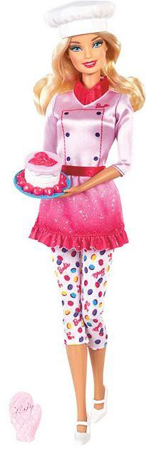 Barbie Sweet Chef Doll 2013 by **BarbieLover**, via Flickr  http://www.barbiegamesworld.com/