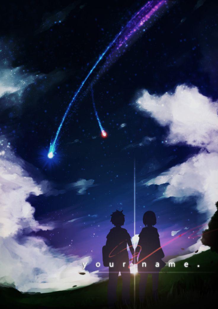 Your Name - Main Title | Animes | Anime, Filmes de Anime e Casais fofos