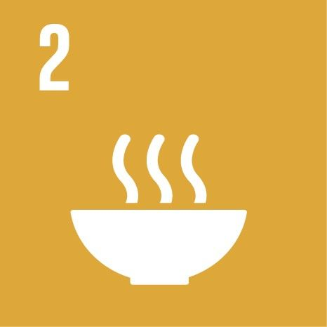2: Acabar com a fome, alcançar a segurança alimentar e melhoria da nutrição e promover a agricultura sustentável