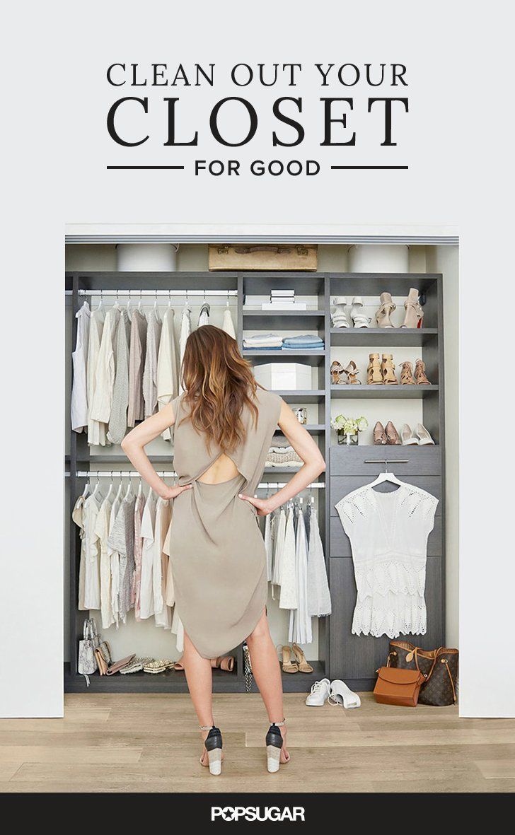 You would have never known that I organize and overhaul the wardrobes of clients for a living, let alone write books on the subject, if you had seen the state