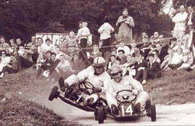 Vintage Go-Kart Racing