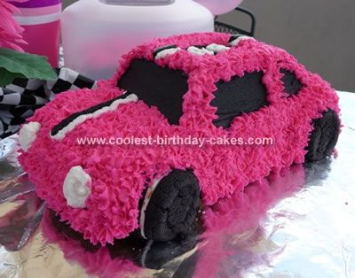 pink car cake- want this for my birthday cake