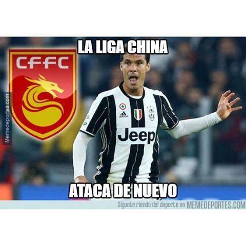 La Juve hace oficial la marcha de Hernanes a la liga china #china #hebeifortune #hernanes #juventus
