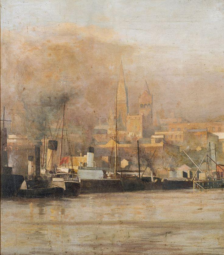 """""""Melbourne 1888"""" by Frederick McCubbin"""