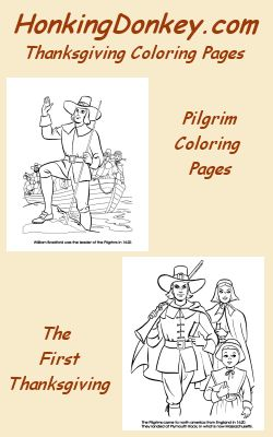 Thanksgiving Coloring Pages for kids - A wonderful collection of great Thanksgiving coloring pages.