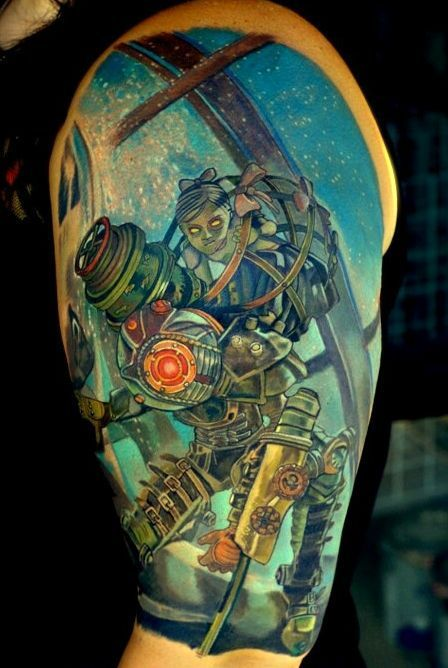 This Bioshock Tattoo is Absolutely Gorgeous [Pic]