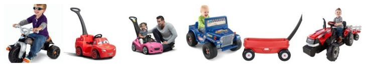 Amazon: Big Price Drops On Kids Ride On Toys – Today ONLY!