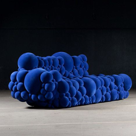 I have no idea where I'd put this... But it looks really funny and squishy... I need a bubble couch