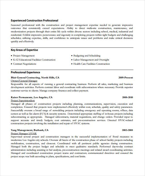 Construction Work Resume Template , Resume References Template for Professional and Fresh Graduate , To make a resume much more credible you need to put references on it. There are different ways to put references on the resume but the common way is b...