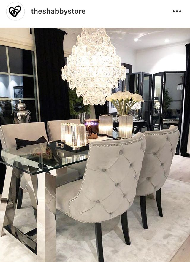 Pin By Sharita Monique On Home Luxury Dining Room Home Decor Online Elegant Dining Room