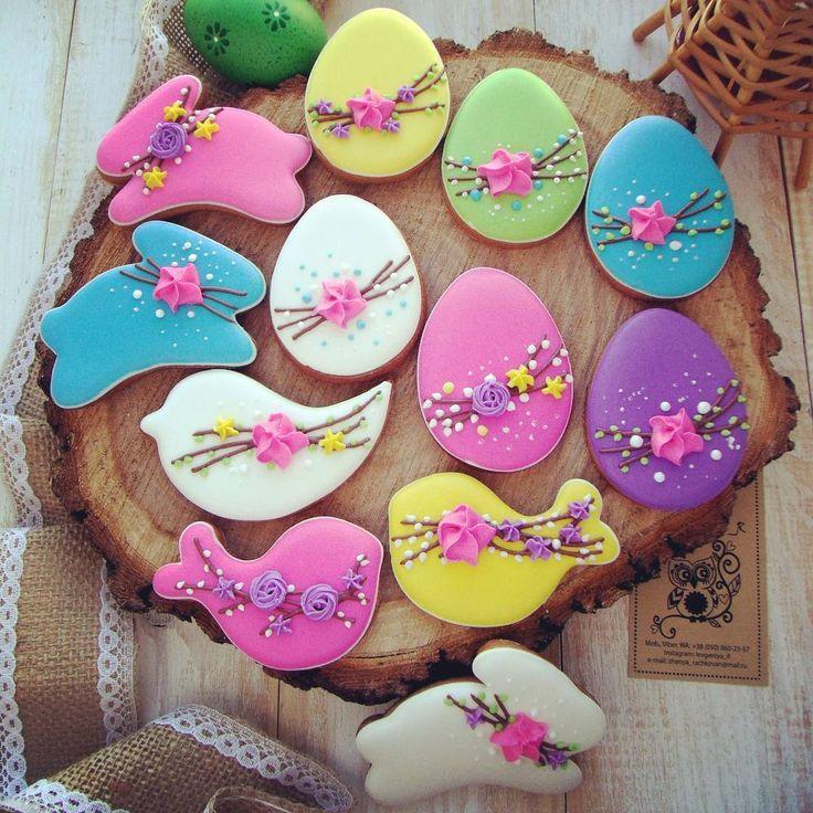 Пасхальные поярче  поштучно с палочками и без). Цена в директ , viber  - контакты в шапке Все пасхальные образцы можно посмотреть по тегу #ievgeniya_r_easter2017 . . . #пасхальныеяйца #зайцы #кролики