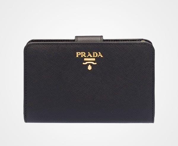 Prada Woman - Wallet - Black - 1ML225_QWA_F0002