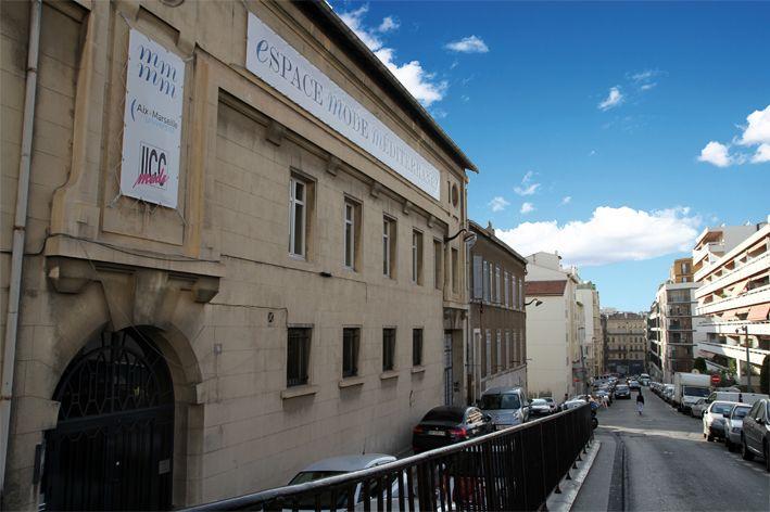 Les 3ème Année IICC-Mode, dans les même locaux qu'Aix Marseille Université à la Maison Méditerranéenne des Métiers de la Mode. 19 Rue Fauchier 13002 Marseille  Crédit Photo: Edwige Duc