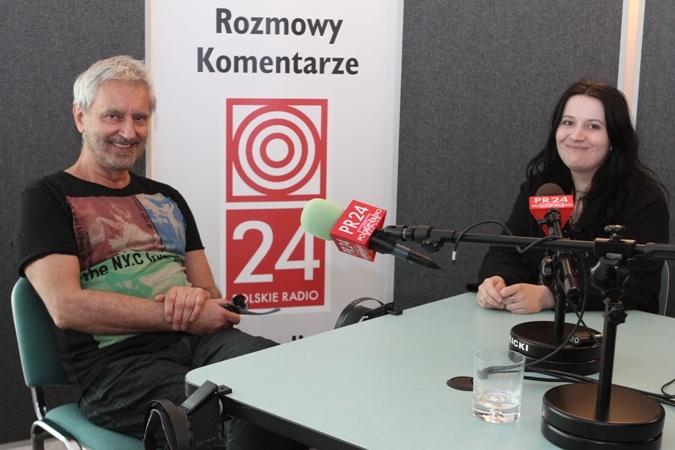 Rafał Olbiński, polski malarz, grafik i twórca plakatów i redkator PR24 Ewa Worobiec, http://www.polskieradio.pl/130,PolskieRadio24